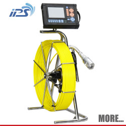 1/4-inch CCD color sewer pipe inspection camera