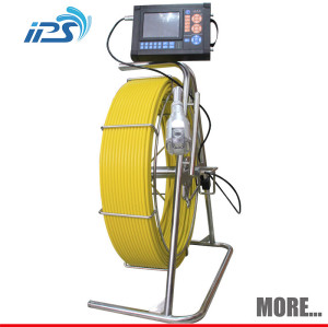 Waterproof inspection camera for pipe drain sewer and duck