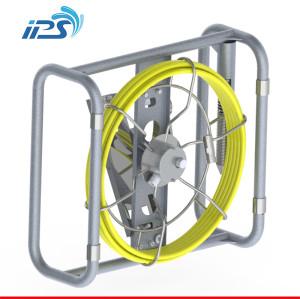 Waterproof flexible medical endoscope / borescope push rod sewer drain pipe line camera
