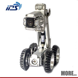 S100 Robust robotic crawler pipe inspection camera robot for long tube