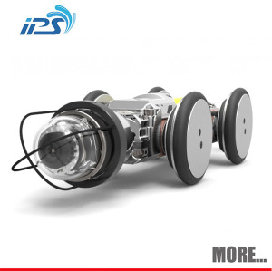 Underground inspection robot system for pipe sewer drain