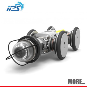 Robotic Sewer Drain Inspection Camera For Pipeline Problem Checking