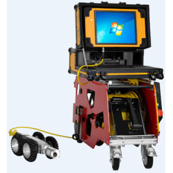 S100 ROV Robot For Underwater Storm Drain Inspection Camera|pipe inspection crawler robot|CCTV Camera
