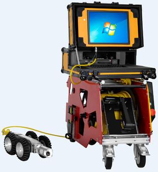 S100 ROV Robot For Underwater Storm Drain Inspection Camera|pipe inspection crawler robot|CCTV Camera