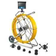 100M push camera for pipe inspection camera in drainage endoscope