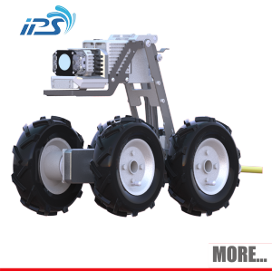 Pan and Tilt Sewer Pipe Robot Crawler Inspection Camera Robot With Manual S200