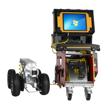 Robotic Drain Sewer Camera For Rental Service| pipe inspection crawler robot|underwater cctv camera