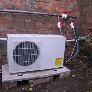 空气能采暖热泵