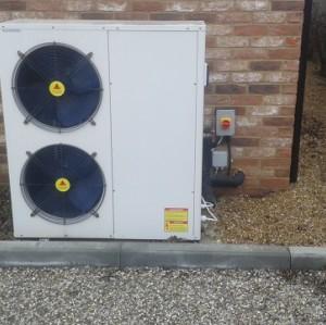 13~14kw green energy housing heating air source heat pump