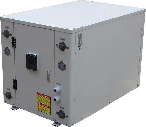 55-80kw Heating and cooling commercial ground source heat pump for house heating