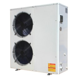 13~14kw green energy air heat source housing heating heat pump with intelligent controller