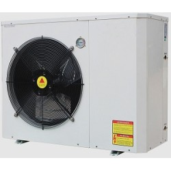 High cop air to water evi heat pump with TUV Erp Label A+