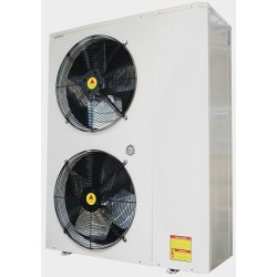 Low ambient temperature evi heat pump with TUV Erp label
