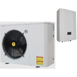 TUV Erp Certificated Split EVI heat pump with energy label A+