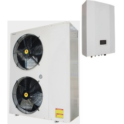 Split high cop air to water evi heat pump with ERP energy label A++