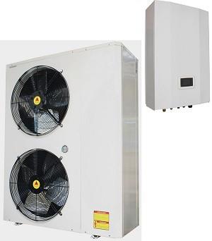 High cop TUV Erp A+ air to water evi split air source heat pump