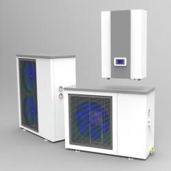 10KW, 17KW DC inverter monobloc heat pump