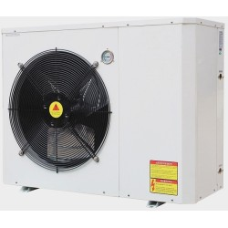 10~12kw TUV Erp Certificated high cop EVI air to water heat pump working from -25 degree to 43 degree