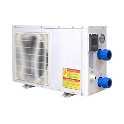 4kw Titanium tube heat exchanger swimming pool heat pump for pool water heating