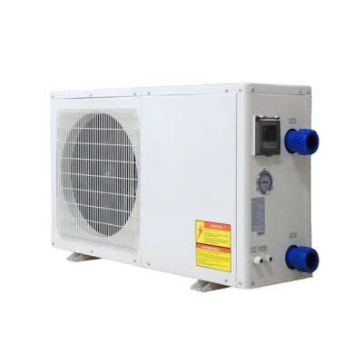 6~13kw Ati-corrosion titanium heat exchanger swim pool heat pump with intelligent controller