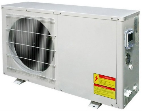 4~6kw hydronic air source heat pump for house heating and hot water