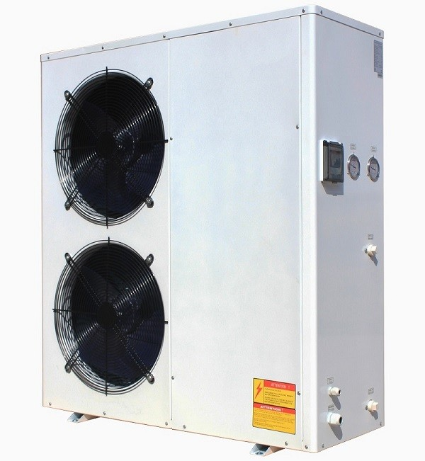 15~16kw eco friendly air source air heat pump with Panosonic compressor