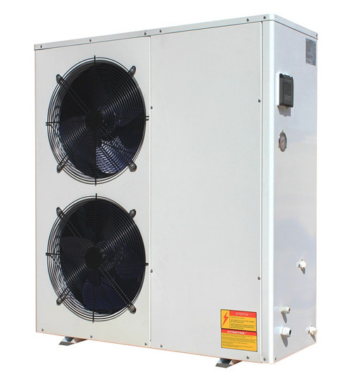 How to set water temperature for the air source heat pump ESD series ?