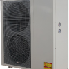 Heating capacity range is expanded for the DC inverter air source heat pump