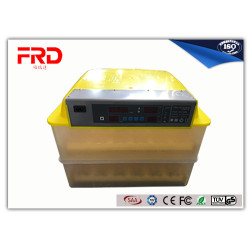 mini small scale FRD-96 egg incubator used for chicken duck quail goose dimension 55x55x35 cm weight 9KGS household pet use
