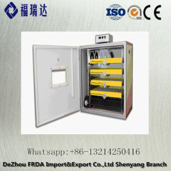 FRDA-500 cheapest high quality temperature and humidity control full automatic for china poultry incubator