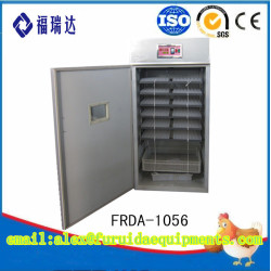 FRDA-1056 china solar energy used chicken egg digital for hatching incubator sale