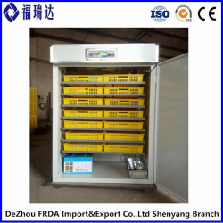 FRD-1232 98% automatic digital chicken egg hatching machine incubator for sale