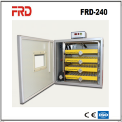 FRD-420 automatic egg incubator/multi-eggs machine/energy efficient