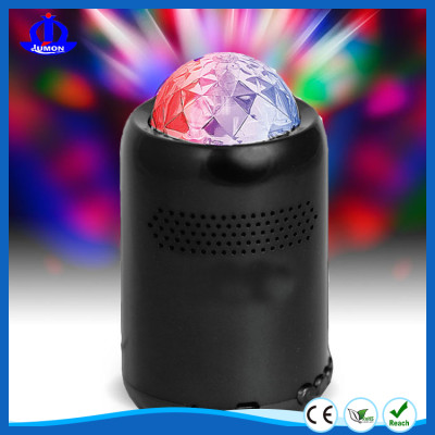 bluetooth party speaker with led light show