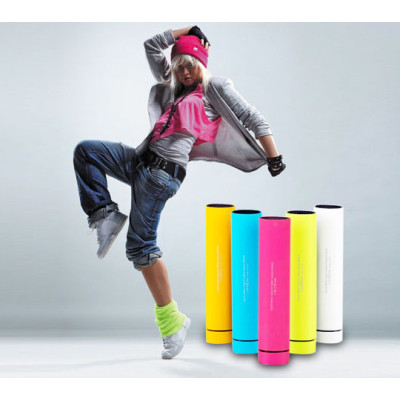 High Quality  mini stylish top-rated sound box speaker with power bank & phone holder