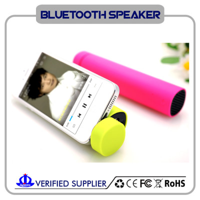 great sound bluetooth speaker with power bank & phone holder