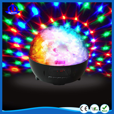 Wireless Portable Bluetooth Speaker with Flashing LED light,1800mAh battery capacity,Built in Microphone,FM Radio