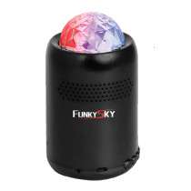 Portable outdoor Bluetooth speaker with LED Light