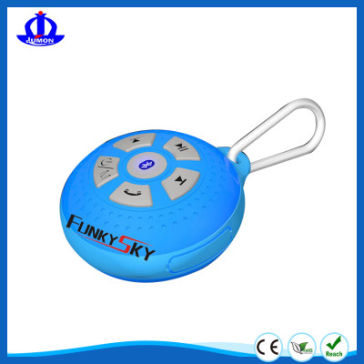 Portable Water Resistance Bluetooth speaker for handsfree,good bass sound speaker,work with all Bluetooth devices