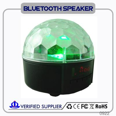 Jumon high end powered bluetooth speakers with led light show