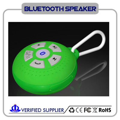 Bluetooth Shower Speaker - Certified Waterproof. 2016 Model Easily With All Your Bluetooth Devices - iPhone, iPad, iPod, PC, Radio