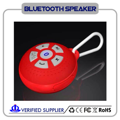 Waterproof Bluetooth Wireless Speaker For Apple Devices With Hook