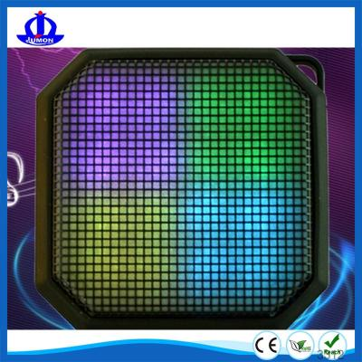 Bluetooth Speakers with Aux, Portable Color Changing LED Light Wireless Stereo Sound Speaker for Home and Outdoor Party