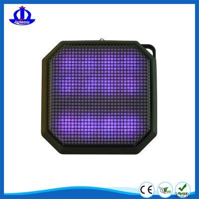 Portable Mini Wireless Bluetooth Light Speaker 11 LED Light Visual Display Mode For Computers & Smartphones