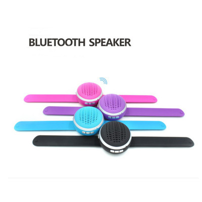 Portable Sports Wrist Bluetooth Wireless Speakers Watch Style Subwoofer Stereo Universal Mini Speaker for Table PC