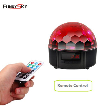 Bluetooth  speaker LED stage light magic ball with USB player remote control home/wine bar/disco party