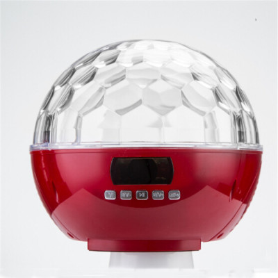 Best Disco Led Light Wireless Bluetooth 4.0 Speaker with TF & USB function