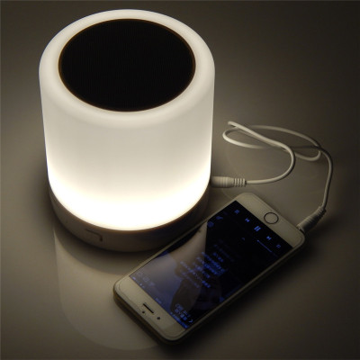 LED Touch Lamp Night Light Portable Bluetooth Speaker/ Wireless Speaker