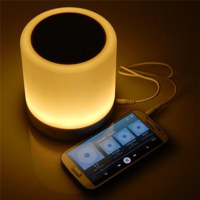Portable Wireless Bluetooth Speaker Colorful LED lights Support TF card indoor Speaker 2016 JUMON