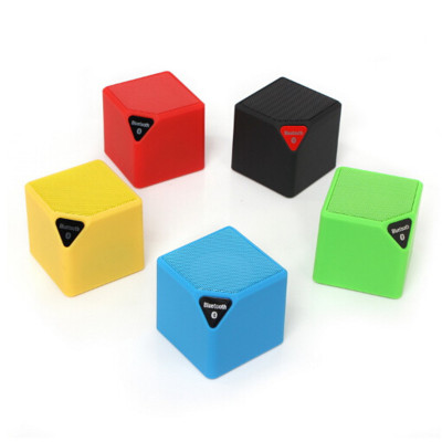 2016 New Mini Bluetooth Speaker Cube Speaker , Wireless Portable Music Player Sound Box Loudspeakers
